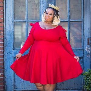 Rue 107 Alia Dress Passion Red